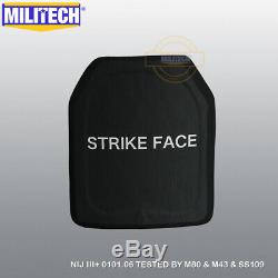 Militech Alumina Nij III + 3 + 10x12 Shooters Cut Panneau Armure Dur Ballistic Sf