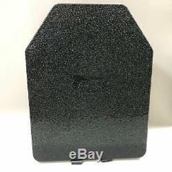 Molle Plate Carrier Avec (2) Niveau III 10x13 Lg Se Dur Plaques Armure, Noir Cr8000