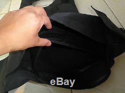 Motif Noir Python Souple Gilet Pare-balles Iiia + 2pcs III Plaques En Céramique