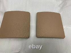 Msap 6x6 Tan Side Plates! Devgru Socom Jasoc Usmc Rangers Sceau