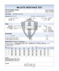 Multi Curve Level Iii+, Gilet Pare-balles, Plaque Balistique 10x12 5,2 Lbs