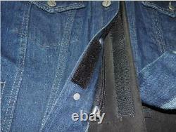 New Israel Personal Body Armor Iii-a(3a) Veste De Jeans À L'épreuve Des Balles En Bleu