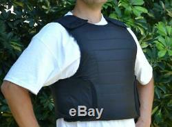 New Israeli Body Armor Iii-a (3a) Hidden Gilet Pare-balles Robo