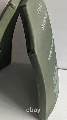 New X-large 11 X 14 Body Armor Esapi Courbe De Niveau III + Plaques Od Green