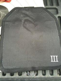 Niveau 3+ 10x12 Céramique Balistique Et Uhmwpe Hard Armor Plate Fast USA Shipping