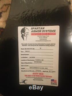 Niveau 3 Corps Armure Spartan Systems Armure