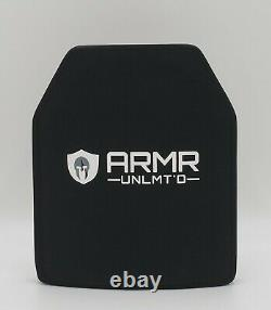 Niveau 3 Stand Alone Plate Body Armor Plate 10 X 12 Poids Légers-3,2 Livres