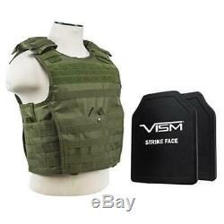 Niveau III + Vism Par Ncstar Bpcvpcvx2963g-a Support De Plaque D'experts Vest (med-2xl) Wi