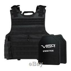 Niveau III + Vism Par Ncstar Bpcvpcvxl2963b-a Support De Plaque D'experts Vest (2xl +) Avec