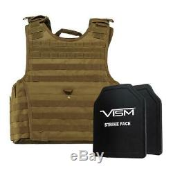 Niveau III + Vism Par Ncstar Bpcvpcvxl2963t-a Support De Plaque D'experts Vest (2xl +) Avec