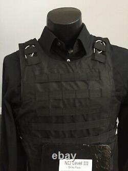Nouveau Ar500 Bulletproof Vest Threat 3 Tactical Carrier Body Armor Second Chance