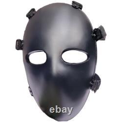 Nouveau Masque Ballet Balistique Anti-balles Corps Armor Nij Niveau Iiia 3masque Face