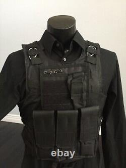 Nouveau Porte-avions Tactique Gilet Pare-balles Ar500 Plaque Body Armor Panneaux Balistiques