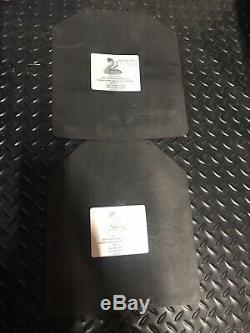 Nouvelle Paire (2) Diamondback Plaques Bullet Proof Nij Niveau III + Body Armor