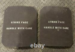 Olive Drab/camo Ballistic Vest Plate Carrier Level 3+ Plaques Mag Pouches