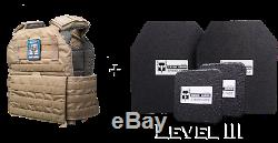 Pack Testudo Gen 2 De Niveau III (par Ar500 Armor) Coyote