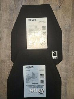 Paire Hesco 4401. Plaques En Céramique. Grande. En Stock Et Prêt À Expédier