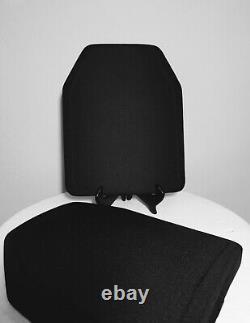 Paire Nij Niveau 3 Certifié 10x12 Body Armor Inserts Sapi Cut In Stock Not Ar500