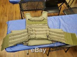 Patriot Armure En Acier Plaques De Protection Balistique De Niveau III Voodoo Veste Tactique