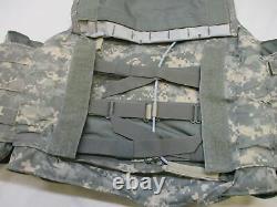 Petite Bulletproof Vest Acu Digital Body Armor Plate Niveau De Support Iii-a Inserts