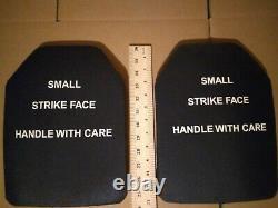 Petite Face De Frappe 7.62mm M80 Protection De Balle Plaques Balistiques Gilet Pare-balles Niveau 3