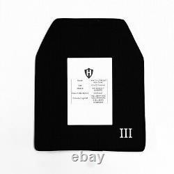 Plaque Balistique Multi-courbes De Niveau Iii+, Armure Du Corps 4,2lbs Avec Plaque D'écaillage Et Vidéo