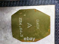 Plaque D'armure Balistique De Niveau 1x Niveau IV 7.62 Taille 10x12 Russie