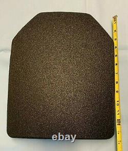 Plaque De Fusil Uhmwpe Légère De Niveau III 11 X 14 Sapi