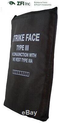 Plaque Sapi En Pehd (très Léger) Niveau III (3) Protection Corporelle Intérieure Niveau III