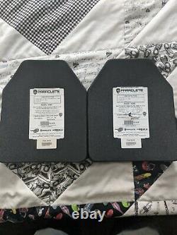 Plaque Sapi Paraclete, Noir, Taille Petite/moyenne, Niveau Classé III