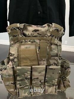 Plaque Tactique Nouveau Gilet Pare-balles Porte-ar500 Corps Armure Panneaux Ballistic