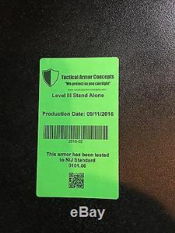 Plaques Ar500 En Acier 10x12 Incurvées Avec Support Et Plaques Latérales Rothco Punisher