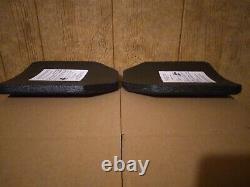 Plaques Balistiques De Face De Frappe 10x12 Gilet Pare-balles De Niveau 3