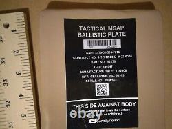 Plaques Balistiques Tactiques Msap Étanches Côté Body Armor Strike Face