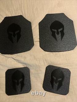 Plaques D'armure Spartan Niveau Iii+
