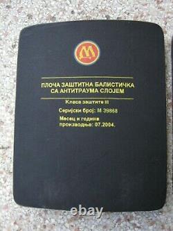 Plaques De Protection Du Corps Niveau 3