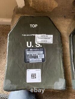 Plaques Eapi Iotv Non Émises De L'armée Américaine Plaques D'armure Moyenne 7,62mm Apm2