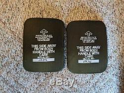 Plaques Sapi Latérales En Céramique 6x8 Niveau 3 Classe III Jeu Body Armor