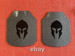 Plaques Spartiates Ar550 Level Iii+ Body Armor