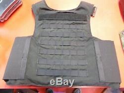 Point Blank Niveau Iiia 3 Taille De La Protection Ballistic 48 Reg Duty Black