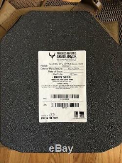 Porte-plaque Avec Des Plaques Ar500