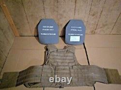 Porte-plaque D'aigle Avec Des Plaques Et Une Armure Souple X-large