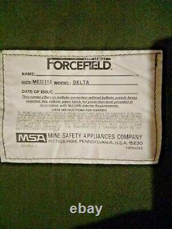 Porte-plaques Avec Plaques Et Armure Molle Msa Moyen