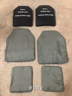 Porte-plaques Avec Plaques Et Inserts Balistiques Souples Petit Tac Magnum Kdh 1