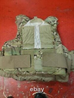 Porte-plaques D'armure Multicam De L'armée Fabriqués Avec Des Inserts En Kevlar Moyen