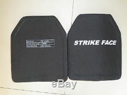 Porte-veste De Combat Tactique Noir + 2pcs III Plaques En Céramique