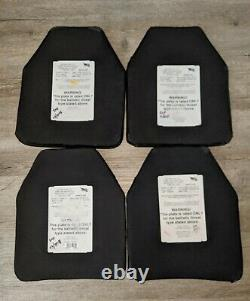 Protech Level III Tactical Body Armor Plates (2 Ensembles) Certifié Nij Multicurve