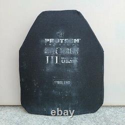Protech Tactical 10x12 Niveau III Pe Plate, 3.1 Livres Body Armor