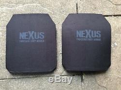 Protège-corps Balistique Nexus III + Plaque Dure 12 X 10 Uksf Set