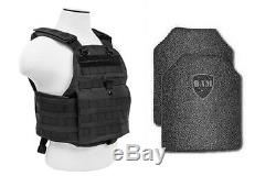 Revêtement Anti-balles Pour Gilet Pare-balles Ar500 Body Armor Pour Pare-balles - Pc Blk
